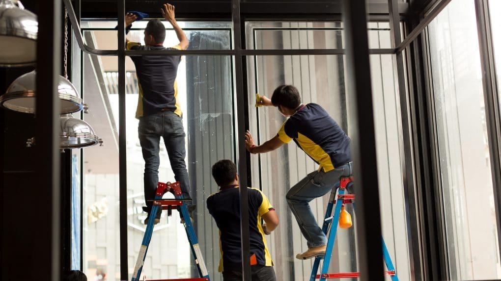 Installation fenêtre